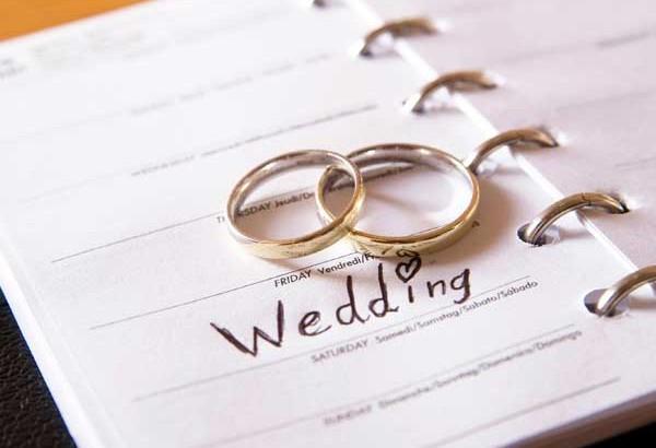 Plan ślubu i wesela